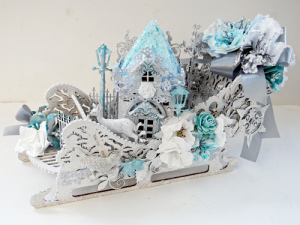 Sleigh Project - Trudi Harrison