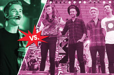 Justin Bieber vs. One Direction: Neck-and-Neck for No. 1, But Will Digital Sales Tip the Scales?