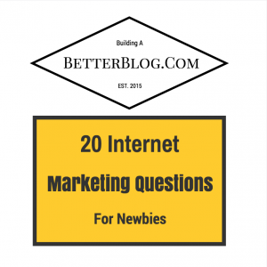 20 Internet Marketing Questions For Newbies