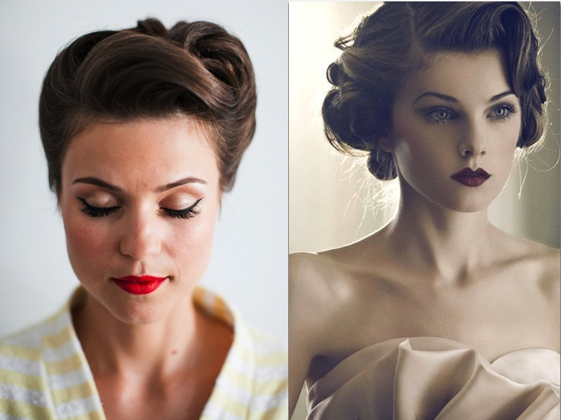 General Vintage Wedding Hairstyles