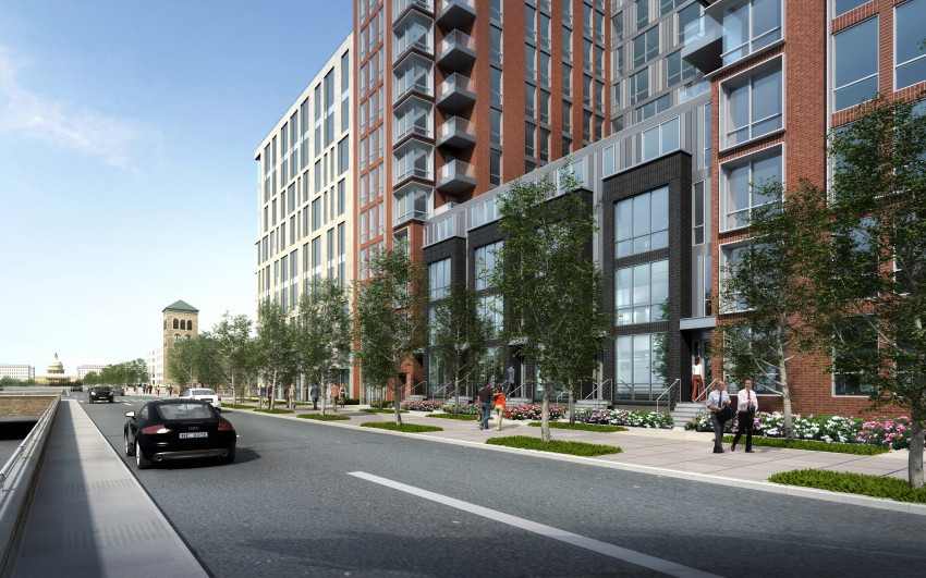 13-story, 163-unit Residential Project Planned Near Nats Park