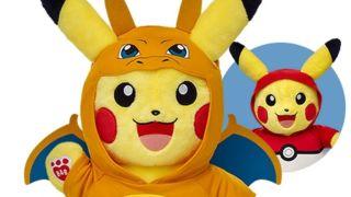 pikachu build a bear top