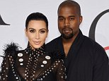 TV Personality Kim Kardashian and rapper Kanye West attend the 2015 CFDA Fashion Awards at Alice Tully Hall at Lincoln Center on June 1, 2015 in New York City.    NEW YORK, NY - JUNE 01:   (Photo by Dimitrios Kambouris/Getty Images)