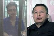 左图:郭飞雄纱网照(律师提供);右图:高智晟近照(耿和推特提供)