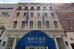 Boyds clothing store was closed for a week after the fire on Nov 30.
