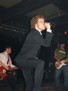 The Whips at Black Cat on May 27, 2006.