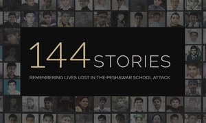 144 stories: Remembering lives lost in the Peshawar school attack