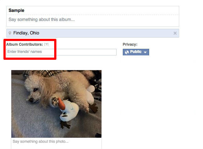 Facebook-Tips-Shared-Album-Private-Album