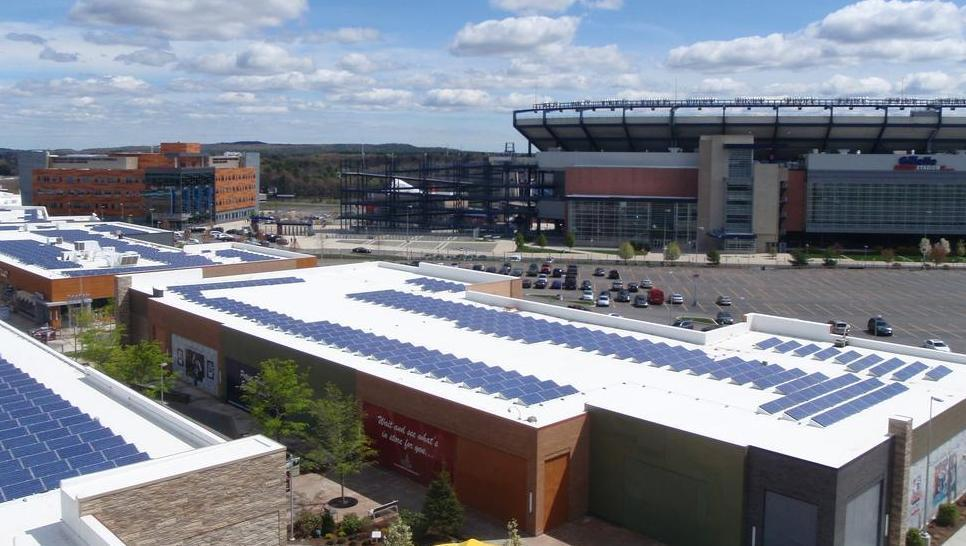 Measuring Energy Efficiency and Sustainability in Massachusetts Professional Sports Stadiums