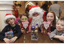 Smiles all round at Breakfast with Santa event in Ely