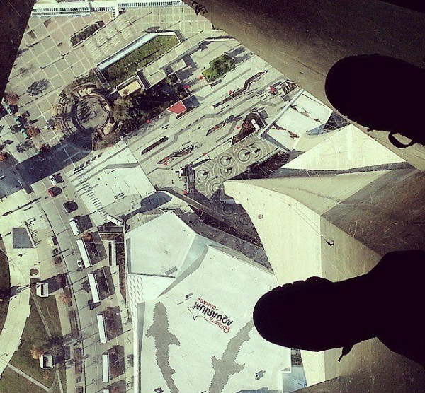cn tower toronto glass floor