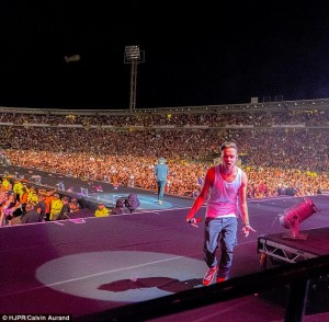 One Direction opens tour in Bogota