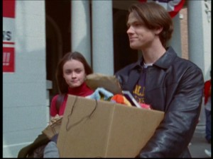 Gilmore Girls Pilot dean and rory