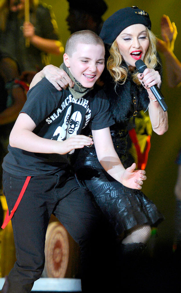 Rocco Ritchie, Madonna