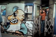 Relive the Glory Days of '80s Subway Graffiti With These Captivating Photos