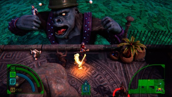 Fight giant monkeys and Lizard-men as you ascend the deadly tower.