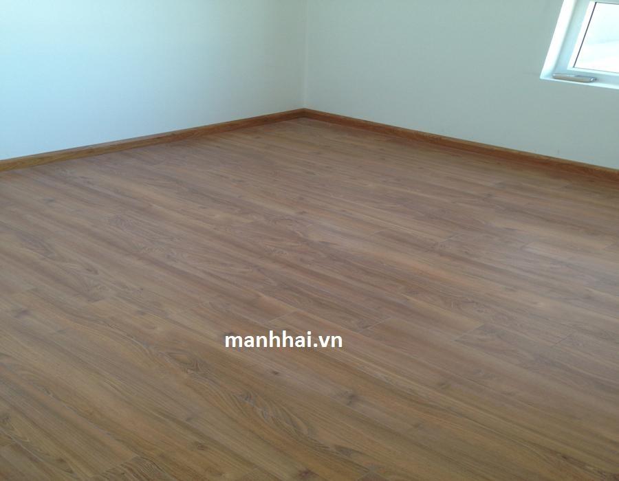 Sàn gỗ Inovar FE560 lát cho phòng ngủ