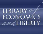 Library of Economics and Liberty masthead logo