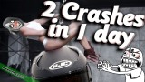 2 Crashes in 1 Day
