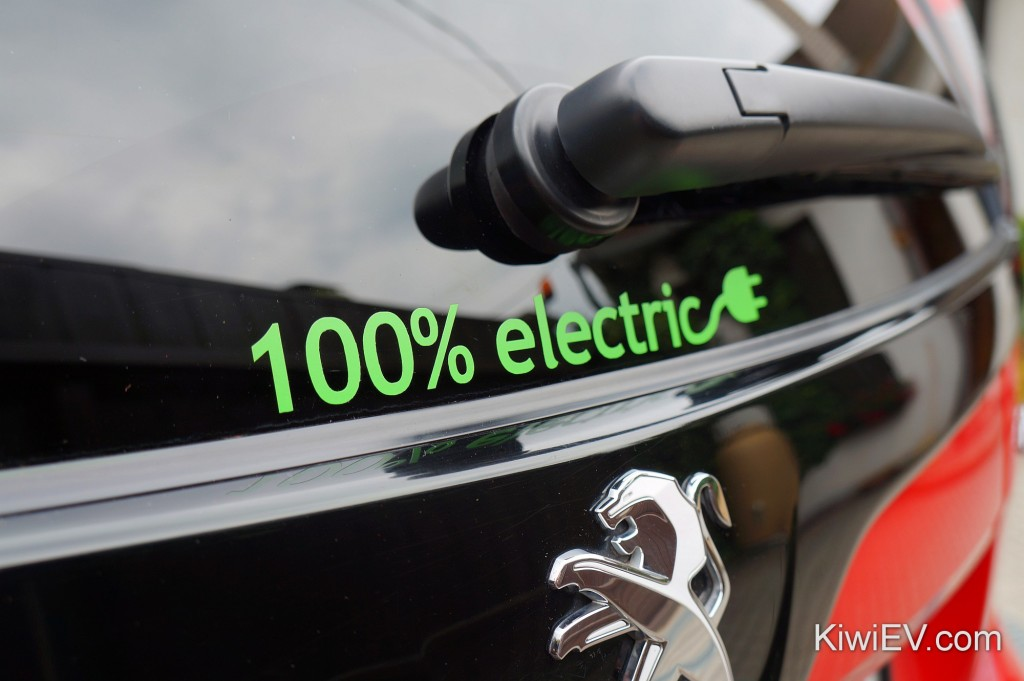100% pure electric car