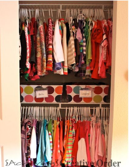Getting those closets ready for cold weather