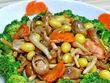 三菇烩西兰花