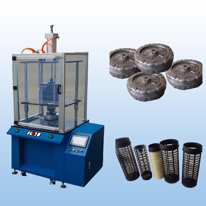 四柱型定位旋熔机