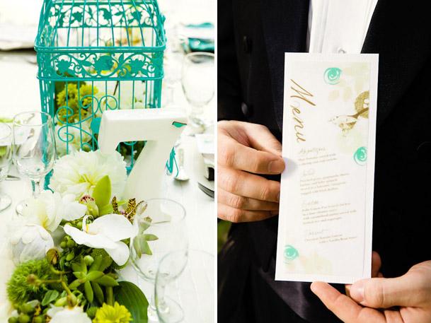 modern teal green wedding (9)