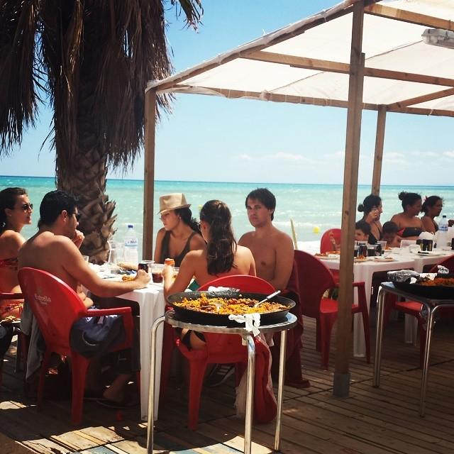 #playa #chilches #paella #lovesummer