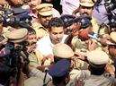 Mohammed Nisham coming out of the Thrissur District Additional Sessions Court on Thursday after hearing the sentence. Photo: K.K. Najeeb