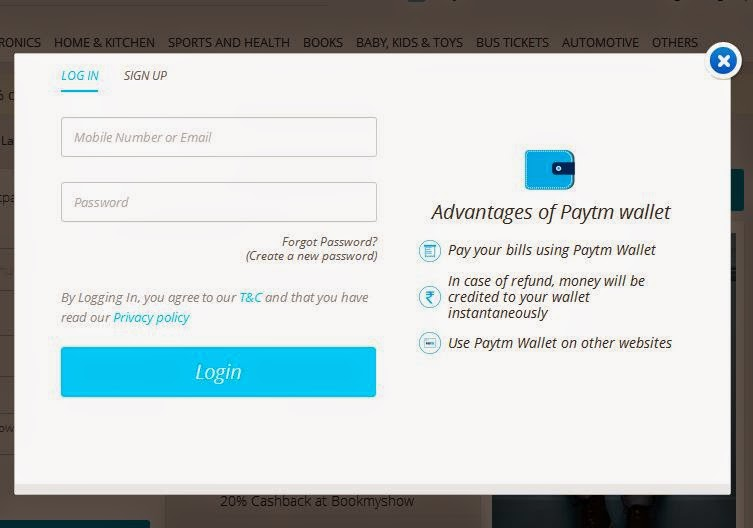 how-to-login-into-paytm-account