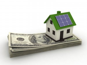 Solar house increasing value