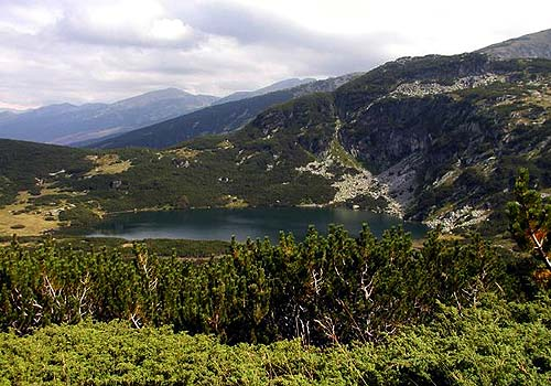 Rila mountain in Bulgaria, Balkan Peninsula country