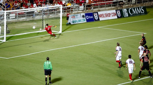 Rafael Castillo buries his penalty