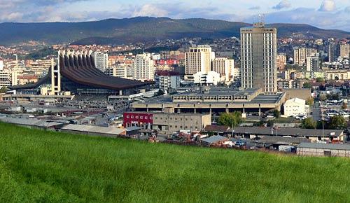 Prishtina the capital of Kosovo
