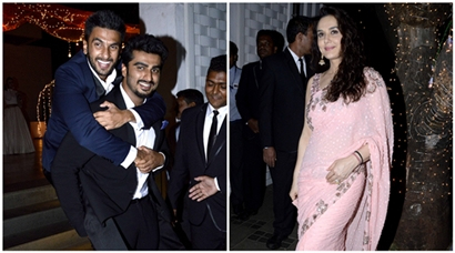 Ranveer Singh, Arjun Kapoor's bromance at a friend's cocktail party