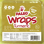 Paleo Wraps (Tumeric)