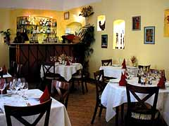 Chez Daniel restaurant offering French cuisine in Budapest Hungary