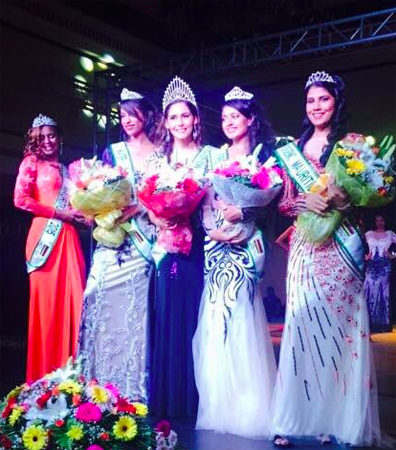 Katia Moochooram was crowned Miss Earth Mauritius 2015