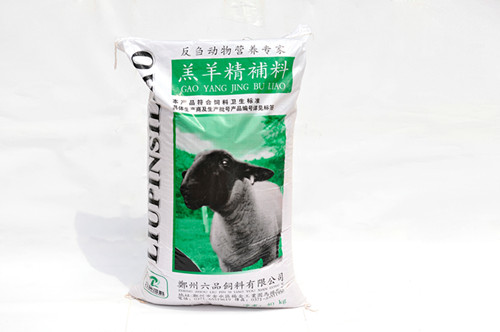 羔羊精补料牛羊饲料     首选六品饲料