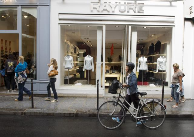 A shop on Rue des Francs-Bourgeois in Paris. - Lonely Planet Images/Getty