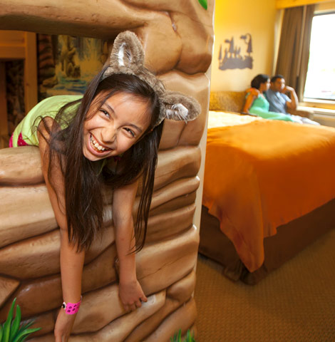 Suites at Great Wolf Resorts are designed with kids in mind.