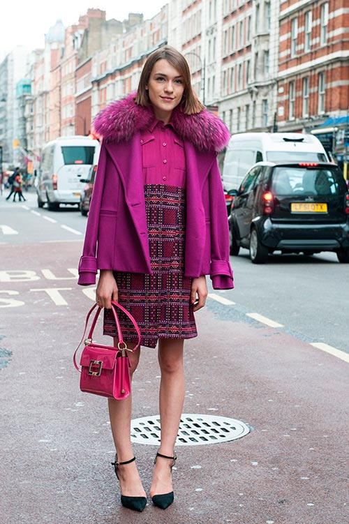 Street Style Looks from London Fashion Week