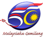Logo 50 tahun merdeka