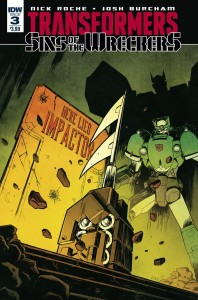 Transformers: Sins of the Wreckers #3