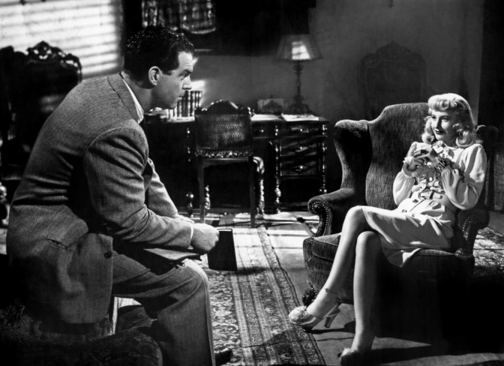 Martha's sister under the skin, Phyllis Diedrickson, from Double Indemnity. Phyllis doesn't pretend to class?she's a tramp, end of story.