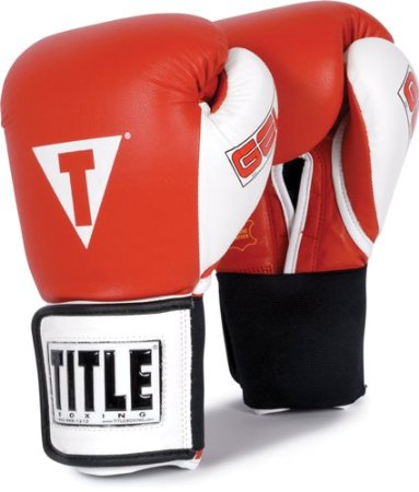 TITLE Gel Hook-and-Loop World Training Gloves