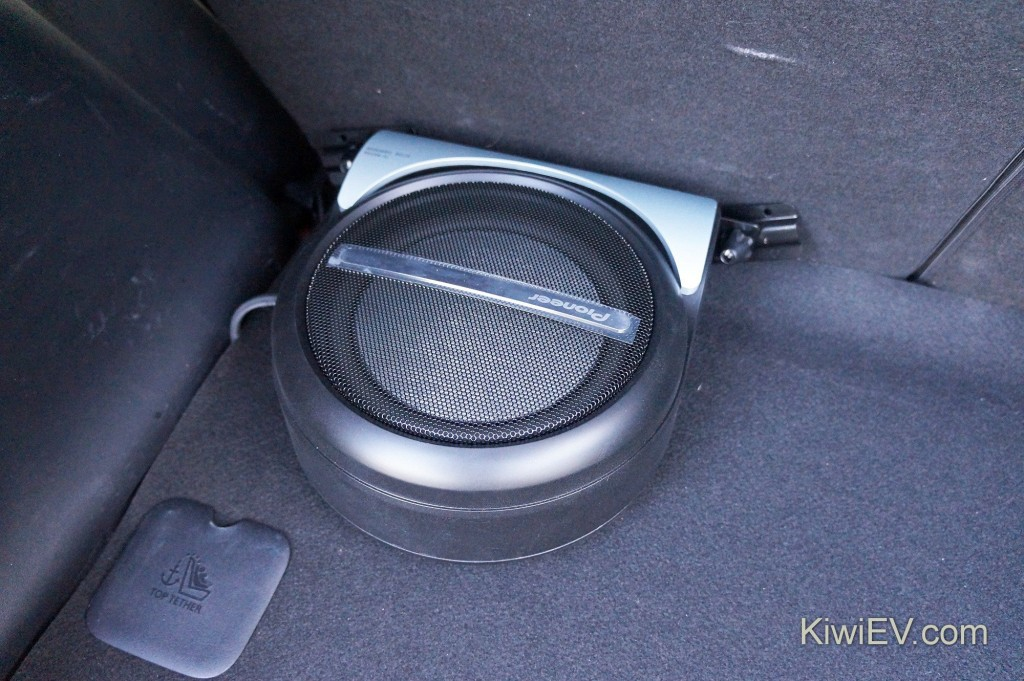 Pioneer TS-WX210A subwoofer.