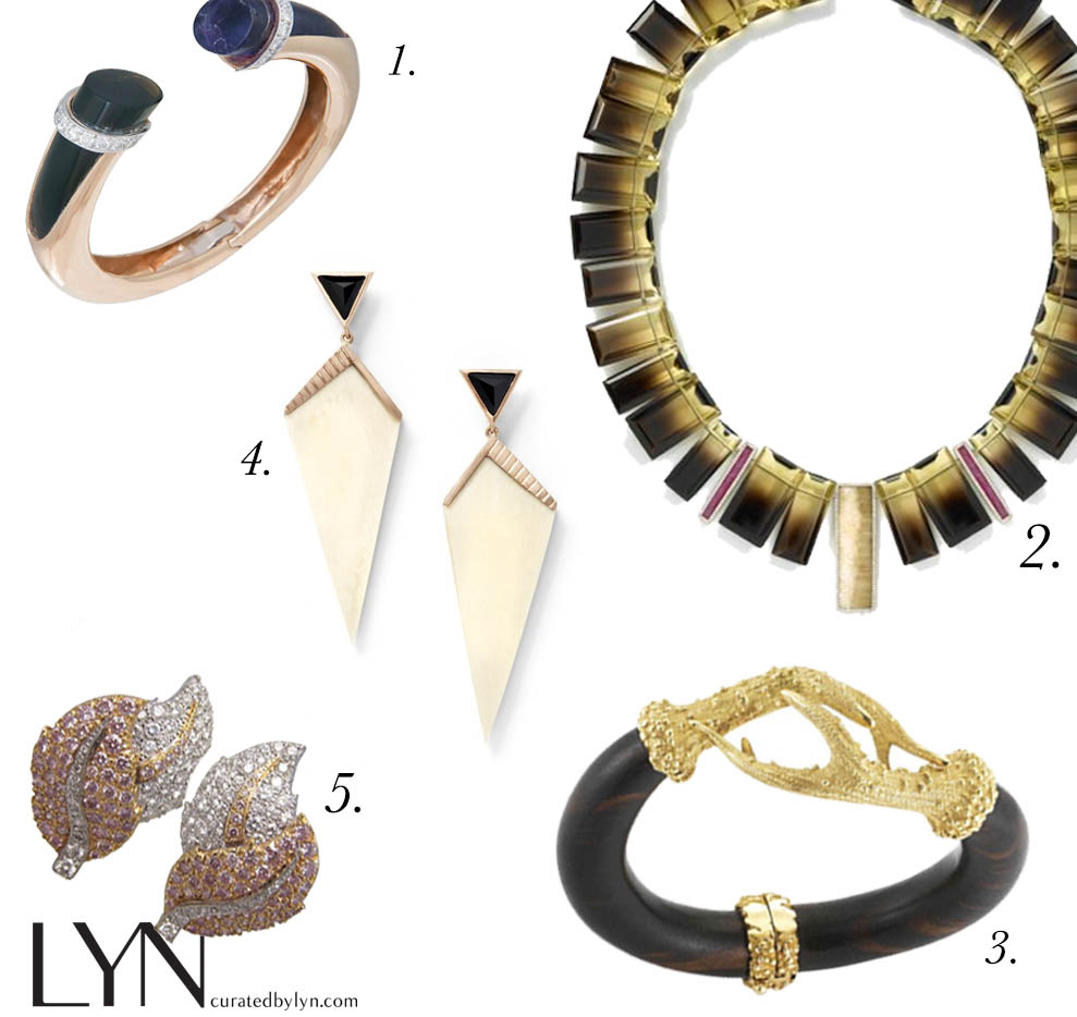 classic jewelry metallic nudes curated by lyn