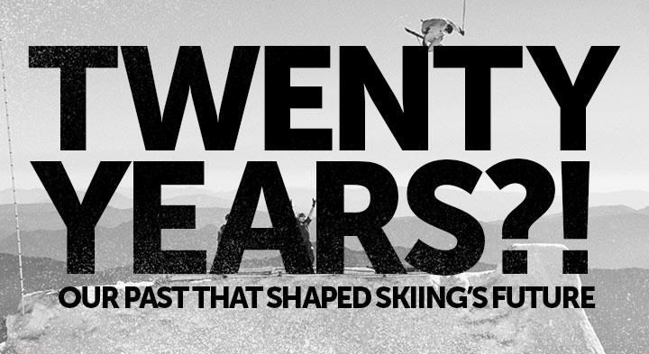 Skiing the Wrong Way Since '95 - A History of Line Skis